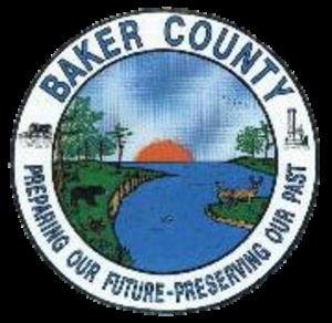 Baker County, Florida - Image: Seal of Baker County, Florida