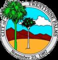 Seal of Twentynine Palms, California.png