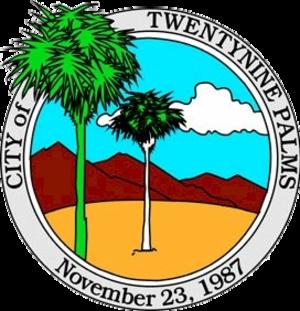 Twentynine Palms, California - City of Twentynine Palms, CA seal