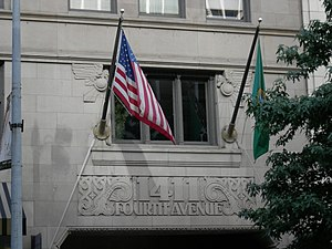 National Register of Historic Places listings in Seattle - Image: Seattle 1411 Fourth 01