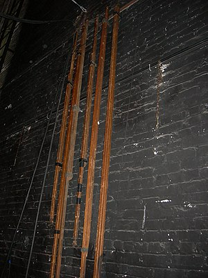 Brace (theatre) -  A selection of stage braces