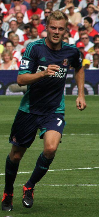 Seb Larsson - Larsson playing for Sunderland in 2012