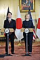 Secretary Clinton and Japanese Foreign Minister Fseiji Maehara Host a Joint Press Availability (5332258972).jpg