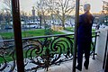 """Secretary Kerry Enjoys the View of Paris Before Participating in a Panel at the Mashable-UN Foundation """"Earth to Paris"""" Summit (22961544784).jpg"""