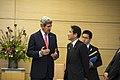 Secretary Kerry Talks With Japanese Foreign Minister Kishida (8652425650).jpg