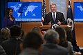 Secretary Pompeo Delivers Remarks to the Media (49346072666).jpg