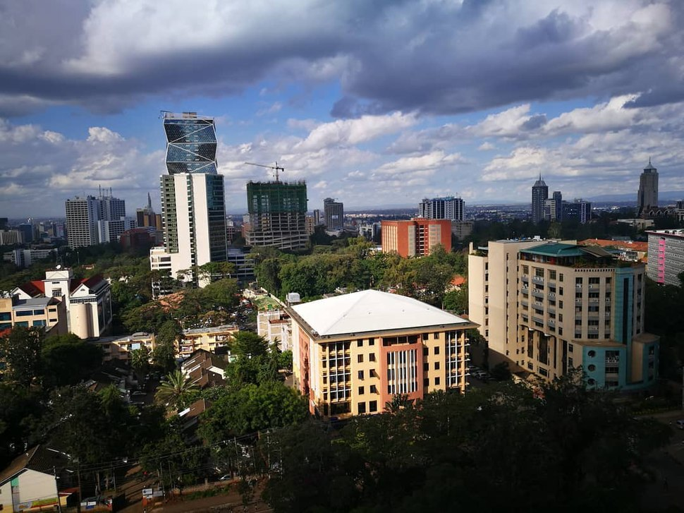 Section of Upper Hill in 2018