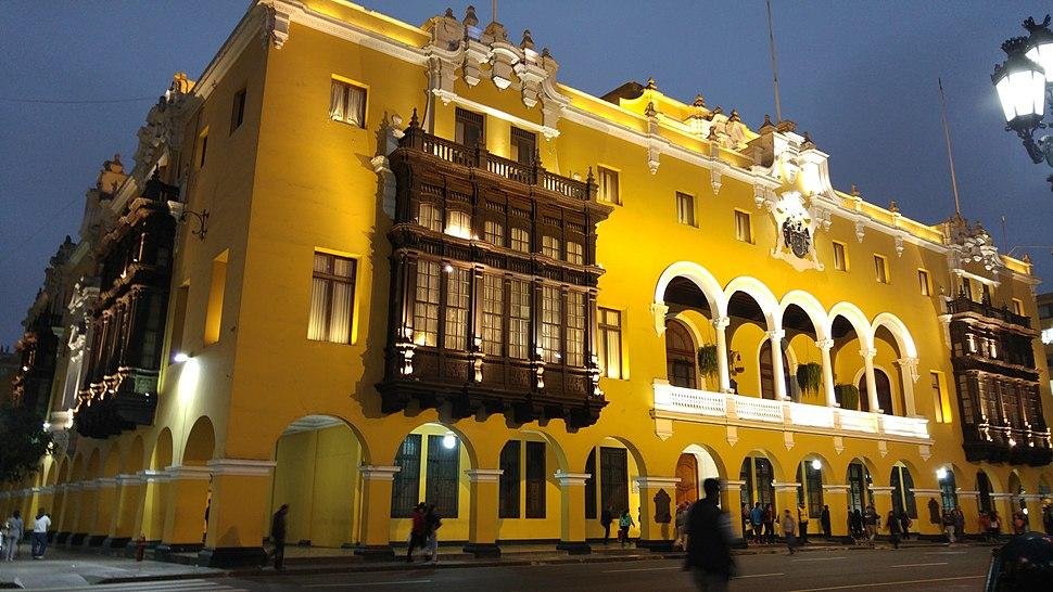Sede de la Municipalidad de Lima