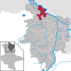 Seehausen, Altmark - Image: Seehausen (Altmark) in SDL