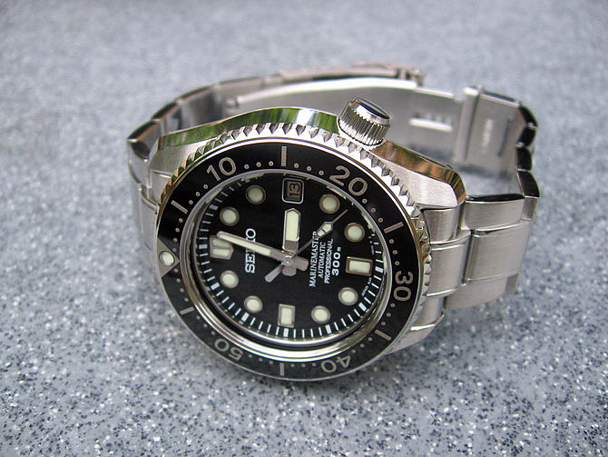 English: Seiko SBDX001 Marinemaster Automatic ...