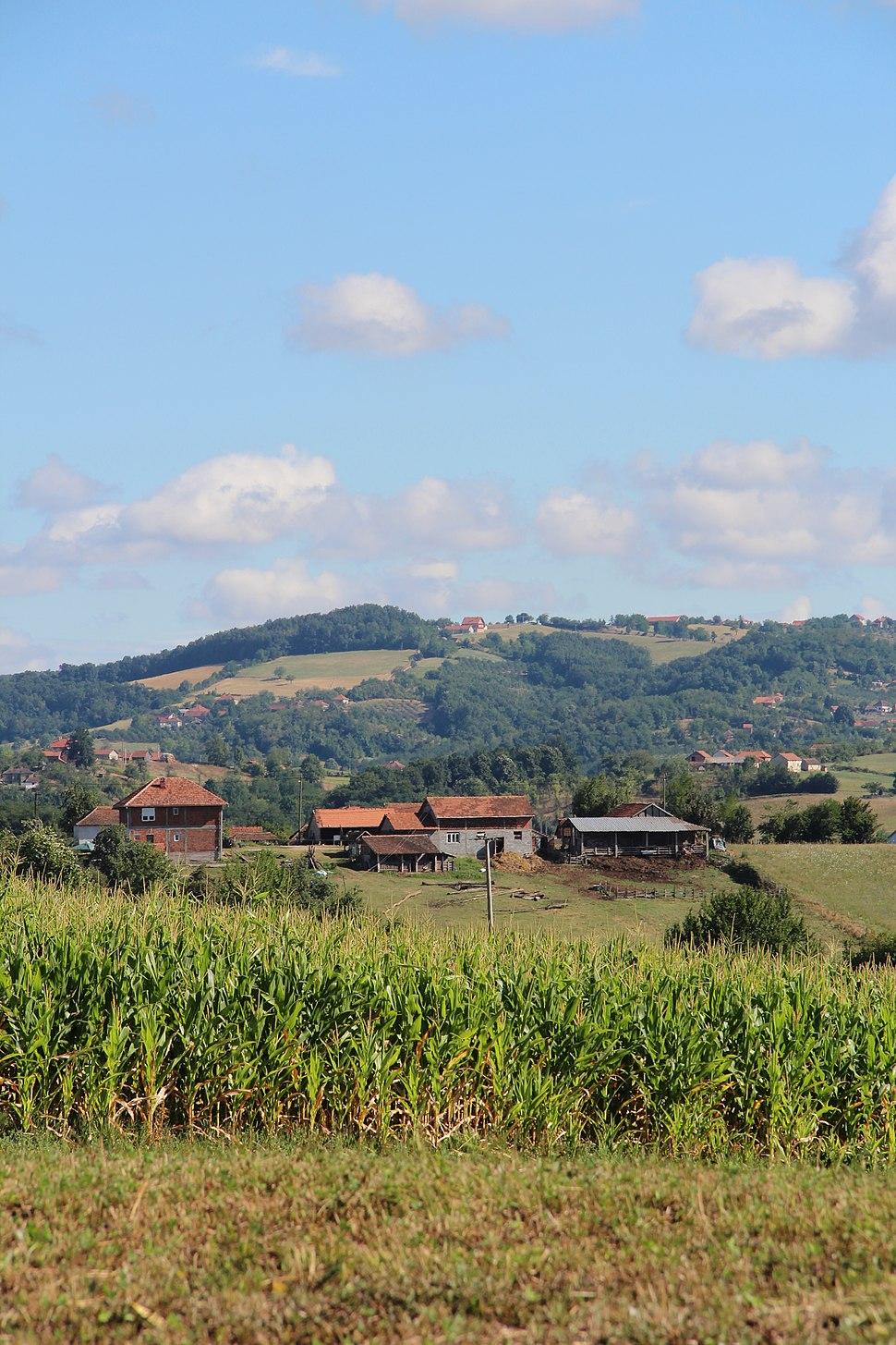 Selo Beomužević - opština Valjevo - zapadna Srbija - Panorama 14