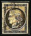 Selo postal, França, 1849.jpg