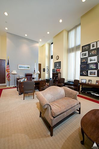Hart Senate Office Building - Image: Senator's Suite in Hart Building