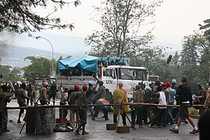 Shake Hands with the Devil (2007 film) - Shake Hands being filmed in Kigali, July 2006