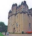Seventeenth century Craigievar Castle rises imposingly - geograph.org.uk - 1559680.jpg