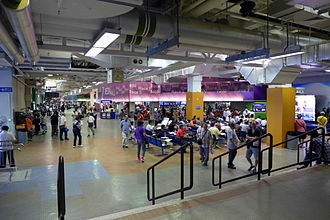 Sha Tin Racecourse - Public Betting Hall at Level 1
