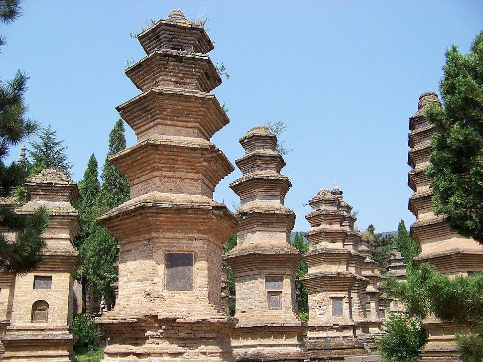 Shaolin Monk Cemetery - panoramio