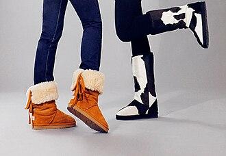 Shearling - Image: Shepherds life boots w