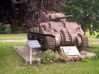 Battle of Arracourt - Arracourt commemorative monument