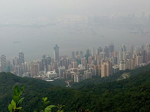 Sai Wan - Image: Sheung Wan and Sai Ying Pun as viewed from high west