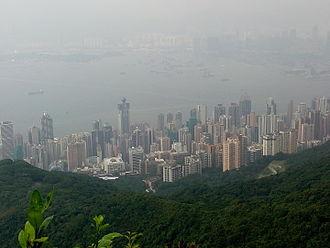 Sai Wan - Image: Sheung Wan and Sai Ying Pun as viewed from high west