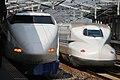 Shinkansen 100 & N700 (8086213180).jpg