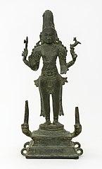 Hindu god Shiva Chandrashekar (Shiva crested with the moon)