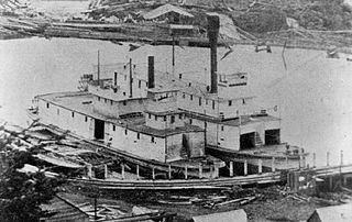 sternwheel-driven steamboat