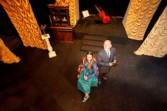 "National Theatre of Kosovo - ""Deshmitari"" show directed by Selami Taraku. Premier year: 2013"