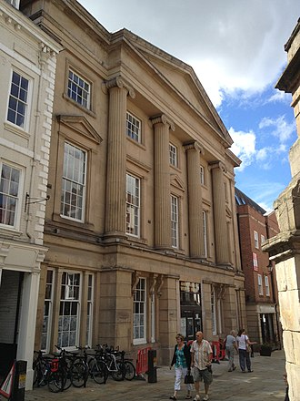 Shrewsbury Museum and Art Gallery - The former Music Hall is set to become the museum's new home.