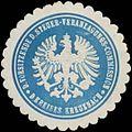 Siegelmarke Der Vorsitzende der Steuer-Veranlagungs-Commission des Kreises Kreuznach W0381920.jpg