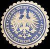 Siegelmarke Königliche Eisenbahn Betriebs - Amt Stolp - Eib. Direktions Bezirk Bromberg W0219745.jpg