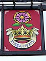 Sign for the Rose and Crown - geograph.org.uk - 1567186.jpg