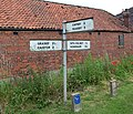 Signpost near North Kelsey Moor - geograph.org.uk - 310802.jpg