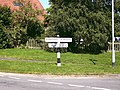 Signs of change, Swallow, Lincs - geograph.org.uk - 543114.jpg