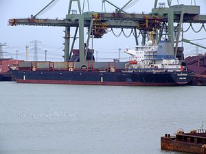 Silver Shing p2, Mississippi harbour, Port of Rotterdam, Holland 04-Mar-2007.jpg