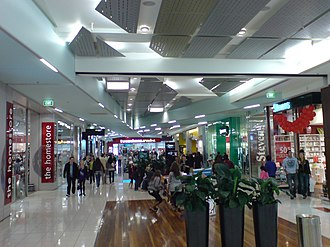 Sylvia Park - Inside, the main mall strip.