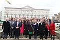 Sinn Féin MPs, MLAs & TDs gather ahead of the Dáil100 event (46112404474).jpg