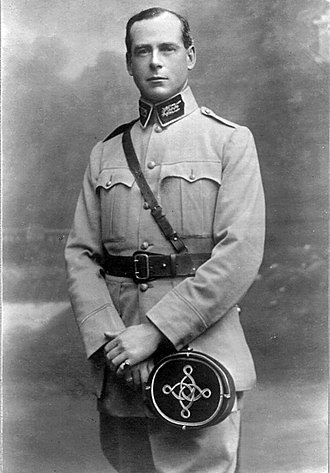 Peppers Manor House - Sir Norman Kater in his French Military uniform during World War I