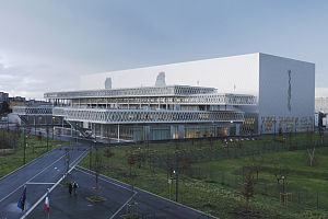 Archives Nationales (France) - The new national archives centre at Pierrefitte-sur-Seine.