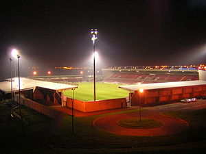 Das Sixfields Community Stadium in Northampton