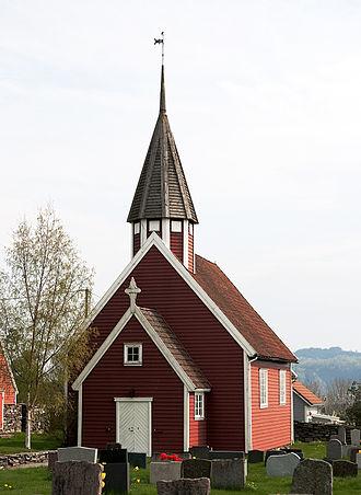 Sjernarøy Church - Image: Sjernaroy kyrkje