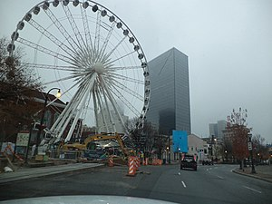 Centennial Olympic Park - SkyView Atlanta