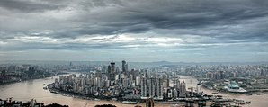 National Central City - Image: Skyline Of Chongqing