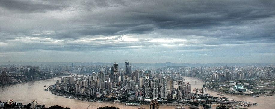 Px Skylineofchongqing