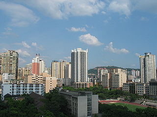 Shapingba District District in Chongqing, Peoples Republic of China