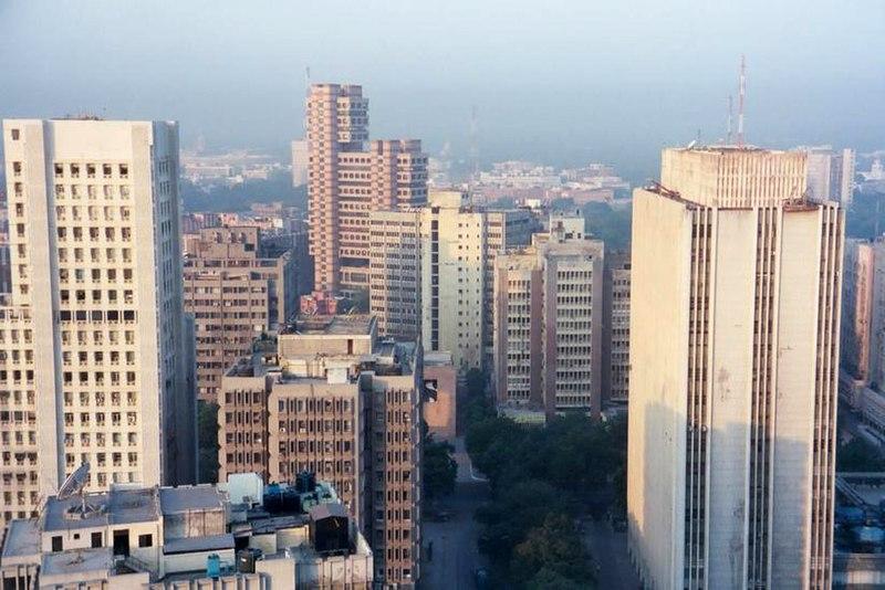 File:Skyscrapers connaught place New Delhi.JPG