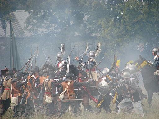 Slag om Grolle 2008-2 - Spaanse cavalerie en infanterie slaags met Staatse troepen