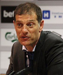 Slaven Bilić Croatian football manager and former player