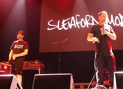 Picture of a band or musician: Sleaford Mods